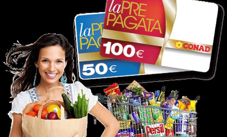 Concorso Conad Vinci 150€ di Spesa