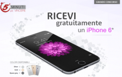 Concorso Vinci un iPhone 6